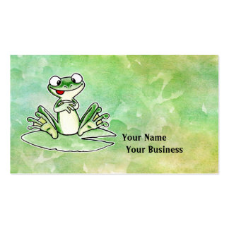 Frog Business Card