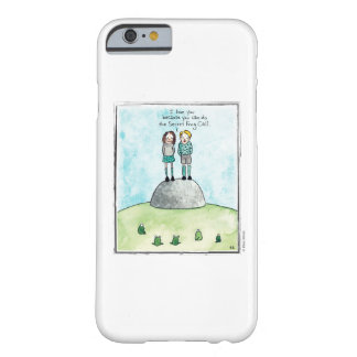 FROG CALL cartoon by Ellen Elliott Barely There iPhone 6 Case