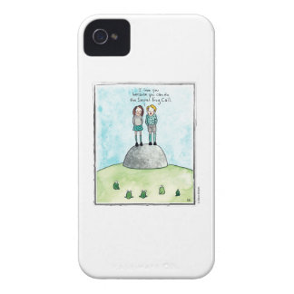 FROG CALL cartoon by Ellen Elliott iPhone 4 Case-Mate Case