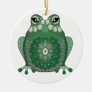Frog Ceramic Ornament
