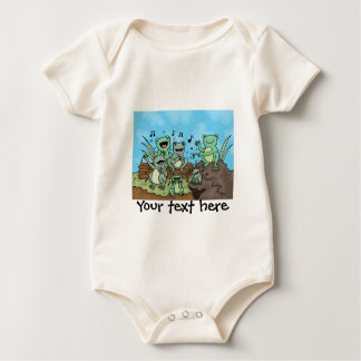 Frog Chorus Baby Bodysuit