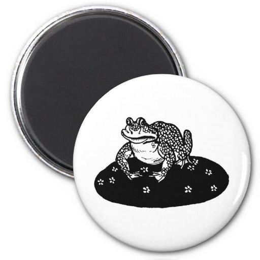 frog-clipart-1 fridge magnet