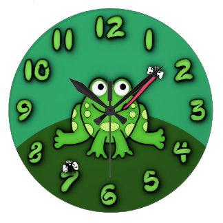 Frog Clock