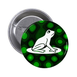 Frog - Customized Pinback Buttons