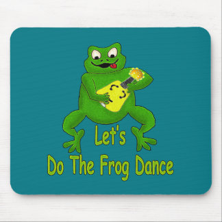 Frog Dance Mouse Pad