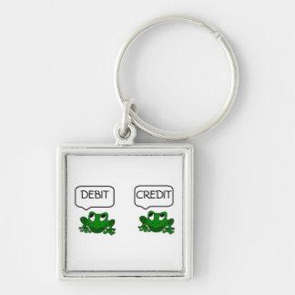 Frog Debit or Credit Keychain