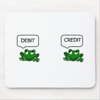 Frog Debit or Credit Mousepad