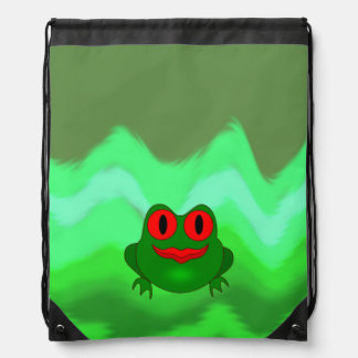 Frog Drawstring Bag