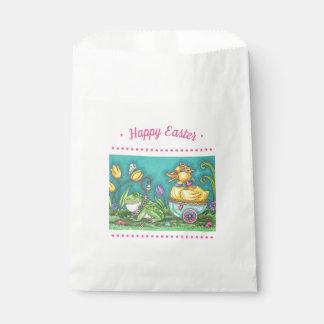 FROG & DUCK PRINCE, EASTER EGG FAVOR BAGS White