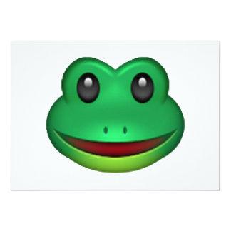 Frog - Emoji Card