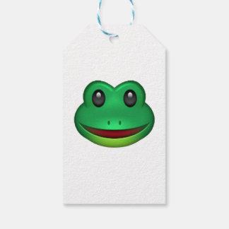 Frog - Emoji Gift Tags