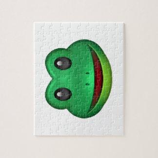 Frog - Emoji Jigsaw Puzzle