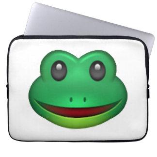 Frog - Emoji Laptop Sleeve
