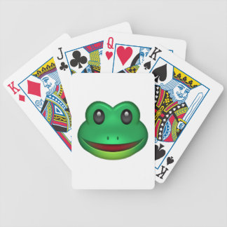 Frog - Emoji Poker Deck