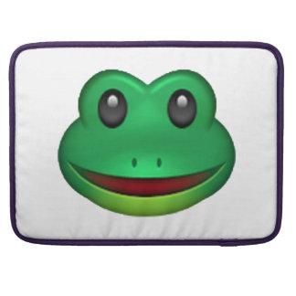 Frog - Emoji Sleeve For MacBooks