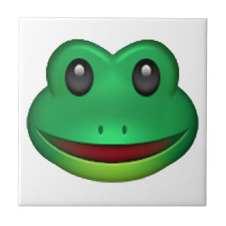 Frog - Emoji Small Square Tile