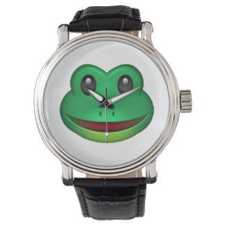 Frog - Emoji Watch