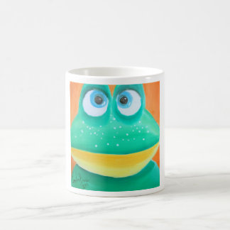 Frog face cute illustration picture magic mug