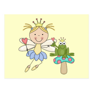 Frog Fairy Magic Blond Tshirts and Gifts Postcard