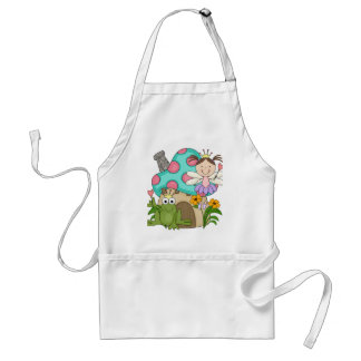 Frog Fairy Toadstool House Tshirts and Gifts Standard Apron