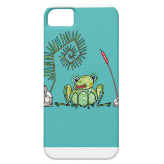 Frog, Fern and Bullrush Case For The iPhone 5
