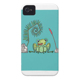 Frog, Fern and Bullrush Case-Mate iPhone 4 Case