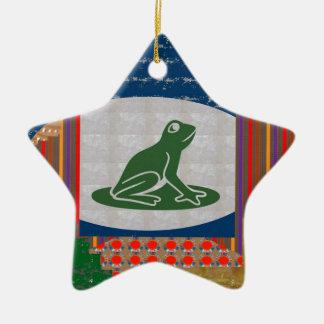 FROG FISH Pet KIDS Colorful GIFTS Art FUN PICNIC Christmas Ornament