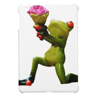 Frog flowers iPad mini cover