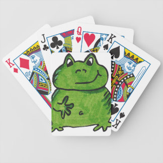 Frog Frog Bicycle Playing Cards