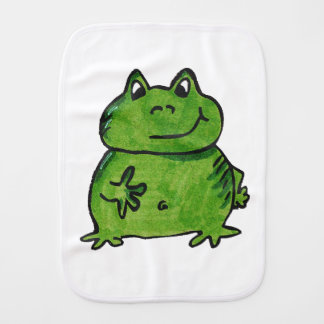 Frog Frog Burp Cloth