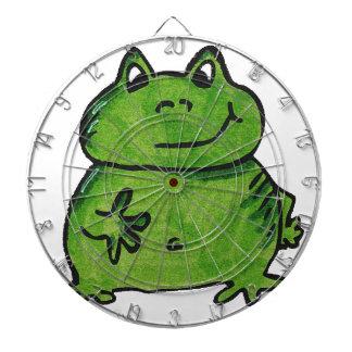 Frog Frog Dartboard With Darts
