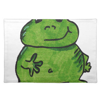 Frog Frog Placemat