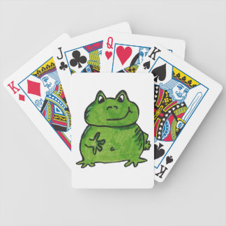 Frog Frog Poker Deck