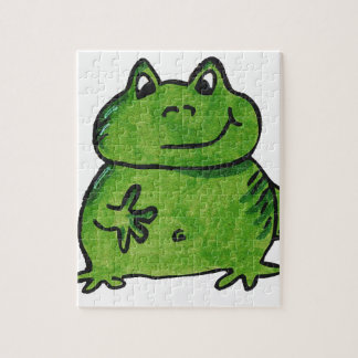 Frog Frog Puzzle