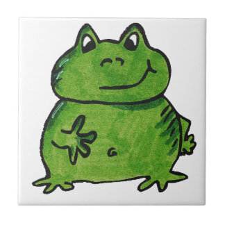 Frog Frog Small Square Tile