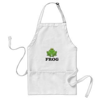 frog frogger standard apron
