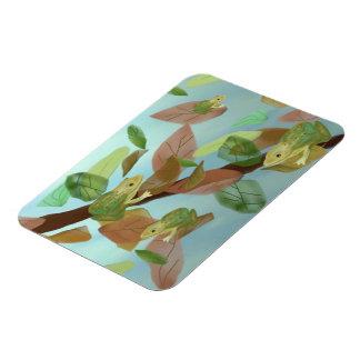 Frog Habitat Premium Magnet