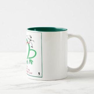 Frog haiku poem coffee mugs