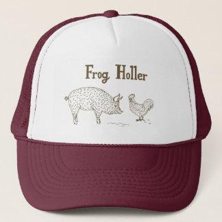 Frog Holler Trucker Hat (Pig & Chick)