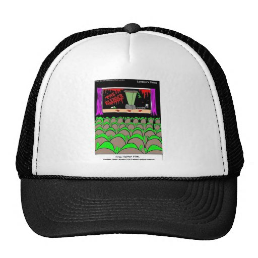 Frog Horror Film Funny Tees Mugs Cards More Hats