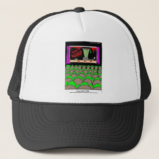 Frog Horror Film Funny Tees Mugs Cards More Trucker Hat