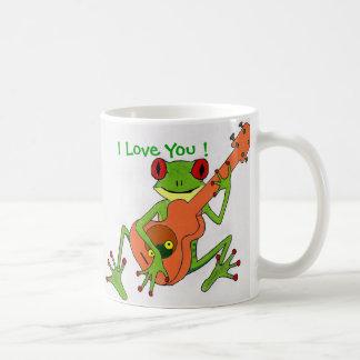 frog, I Love You ! Coffee Mug