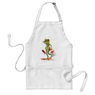 Frog Images Fash Standard Apron