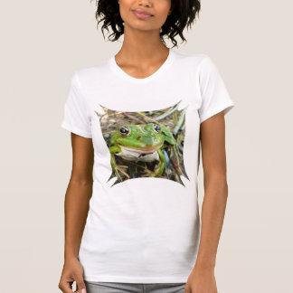 Frog Images Micro-Fiber Singlet Shirt