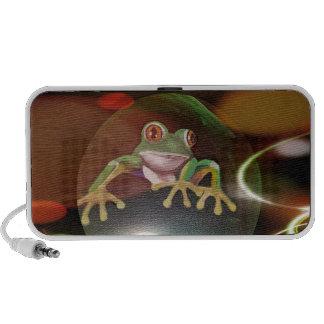 Frog in a Bubble Mp3 Speaker