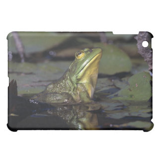 Frog in a pond iPad mini covers