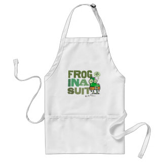 Frog in a Suit Apron