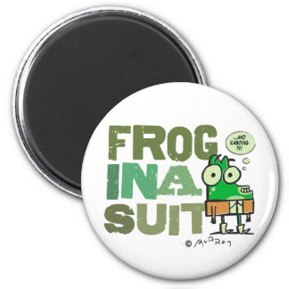 Frog in a Suit Magnet