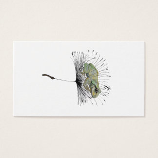 Frog in seed business card