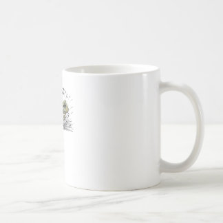 Frog in seed coffee mug